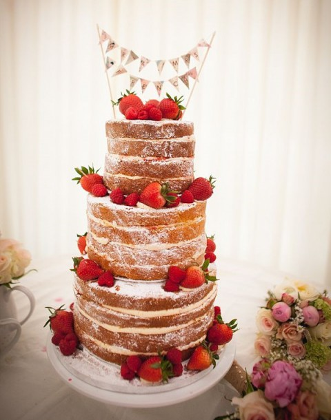 Torta Matrimonio Rustico : Delicious naked wedding cakes happywedd