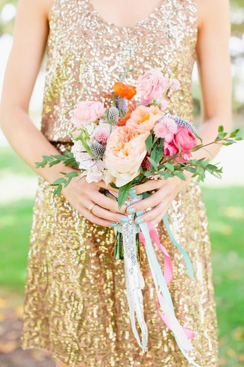 43 Striking Sequin Bridesmaids' Dresses