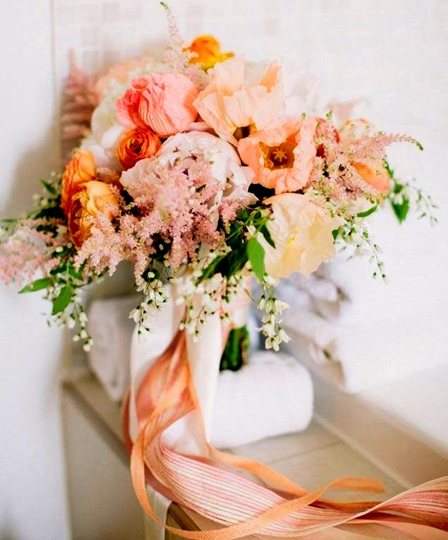 61 Bright Spring Wedding Bouquets