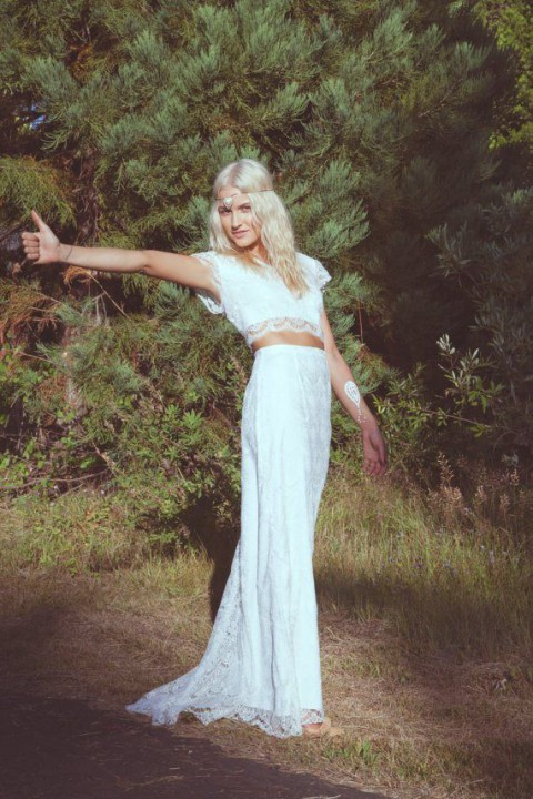 Hippie Chic Wedding Dresses : Beautiful boho chic wedding dresses happywedd