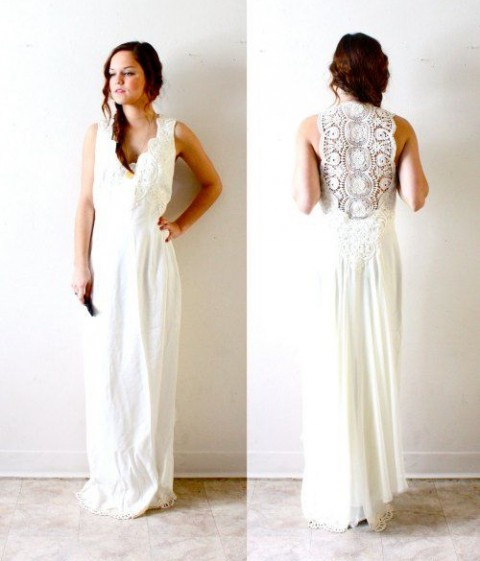 45 Beautiful Boho Chic Wedding Dresses Happyweddcom