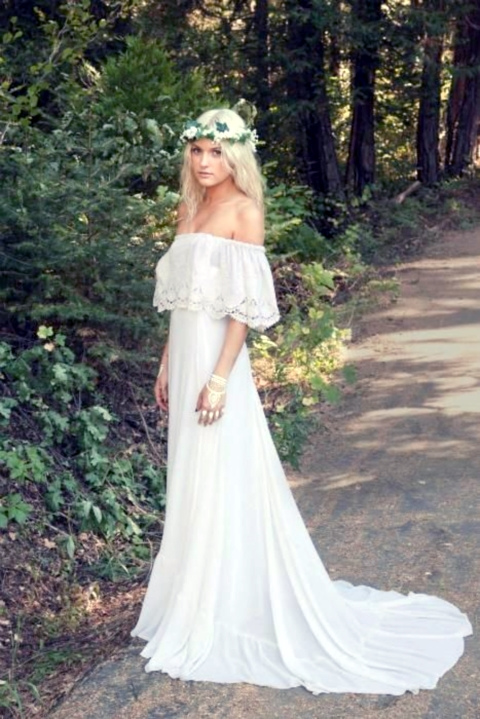Hippie Inspired Wedding Dresses For Sale boho dress