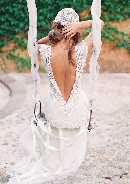 45 Beautiful Boho-Chic Wedding Dresses