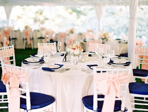 44 striking peach and navy wedding ideas happywedd by mia junglespirit Gallery