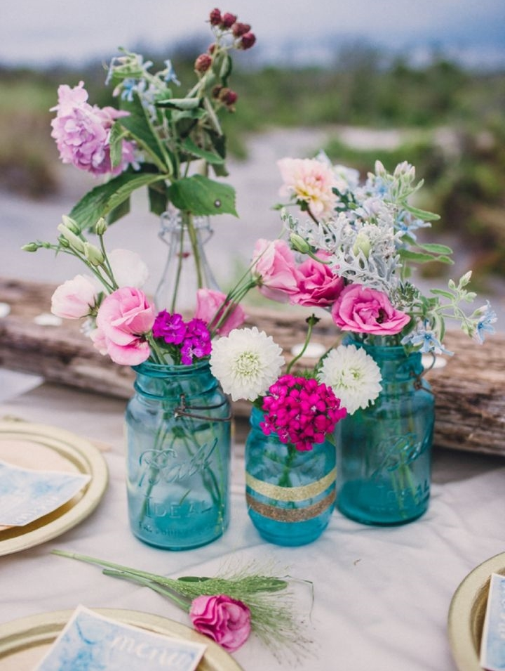 27 Turquoise And Fuchsia Wedding Ideas