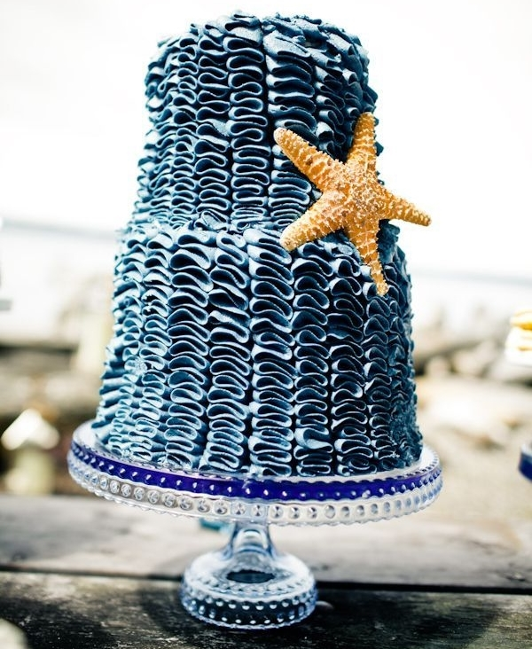 80 Delicious Beach Wedding Cakes