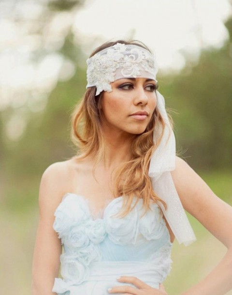 57 Inspiring Boho Chic Bridal Headpieces