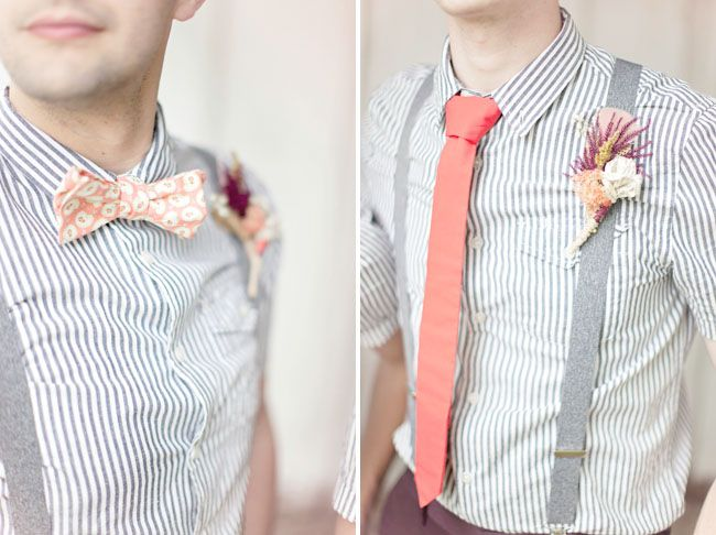 grey and coral wedding colors 24