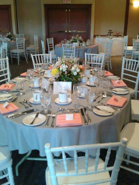 Coral Wedding Table Settings 1214electroneumcoin
