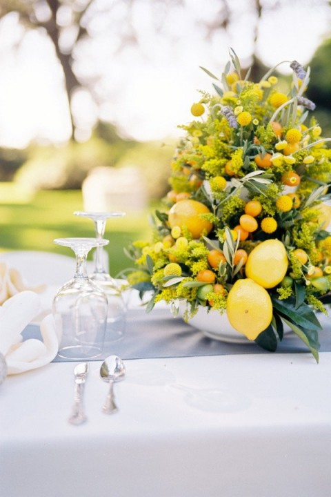Beautiful summer wedding centerpieces happywedd