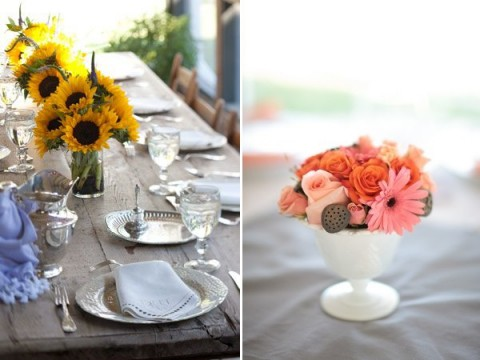 90 beautiful summer wedding centerpieces happywedd junglespirit Images