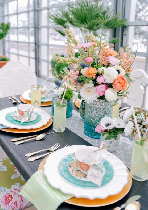 65 bright summer wedding table settings