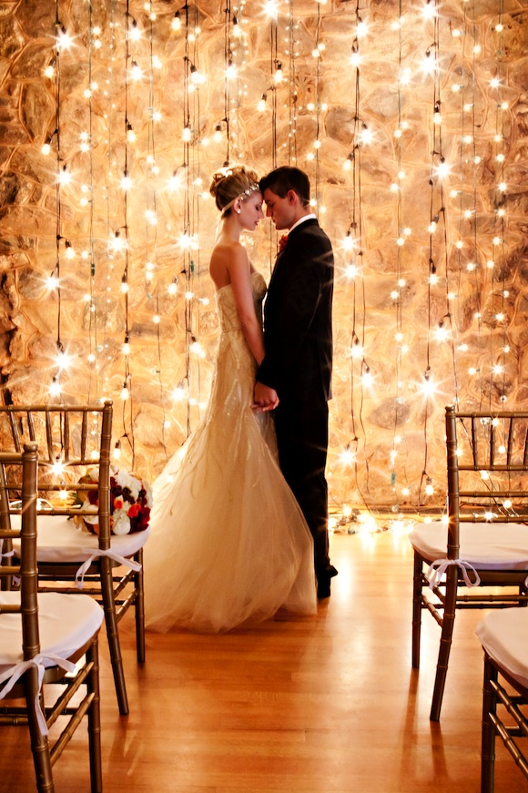75 Romantic Wedding Lights Ideas