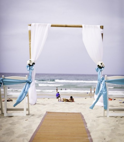 69 adorable beach wedding arches happywedd junglespirit Gallery