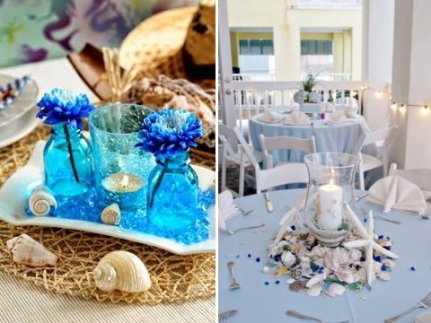 80 beach centerpieces that will drive you crazy happywedd junglespirit Images