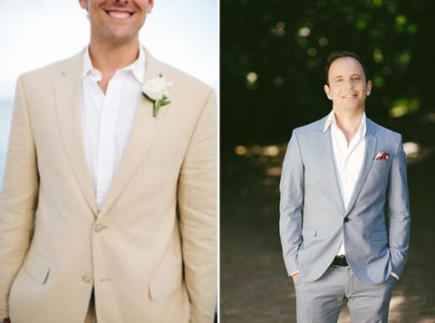 61 Stylish Beach Wedding Groom Attire Ideas