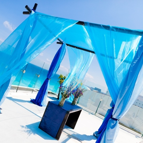 55 Awesome Blue Beach Wedding Ideas
