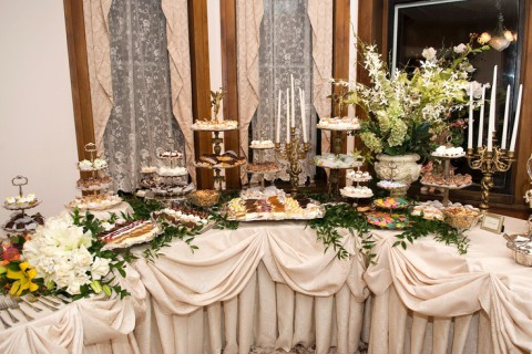 92 Beautiful Wedding Dessert Table Ideas Happywedd