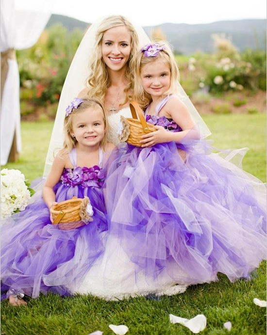 74 Adorable Flower Girl Dresses