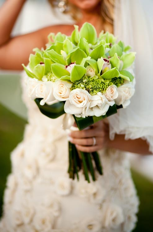52 Inspiring Green Beach Wedding Ideas