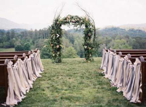 69 Outdoor Wedding Aisle Decor Ideas