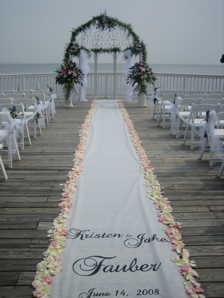 Outdoor wedding aisle 26 for Aisle decoration for wedding