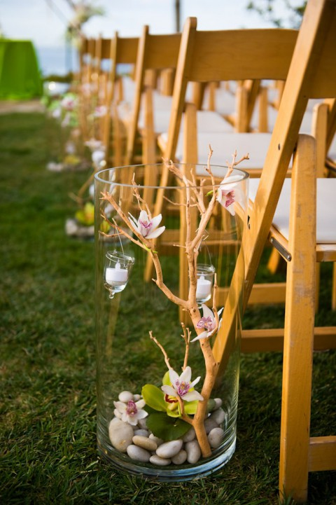 69 outdoor wedding aisle decor ideas for Aisle wedding decoration ideas
