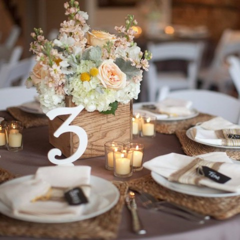 98 Rustic Wedding Table Settings HappyWeddcom