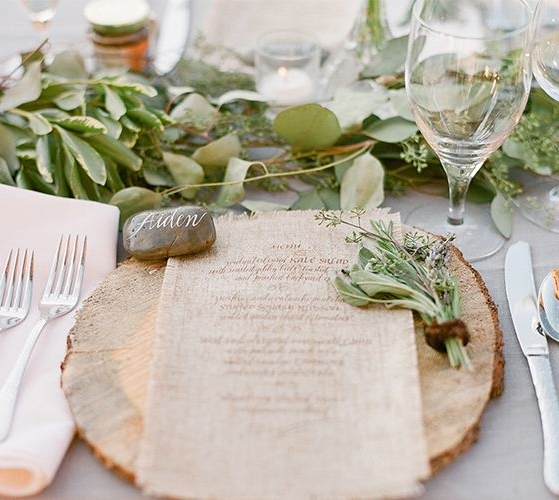 98 Rustic Wedding Table Settings : rustic table setting ideas - pezcame.com