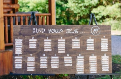 107 original wedding seating chart ideas happywedd by mia junglespirit Image collections