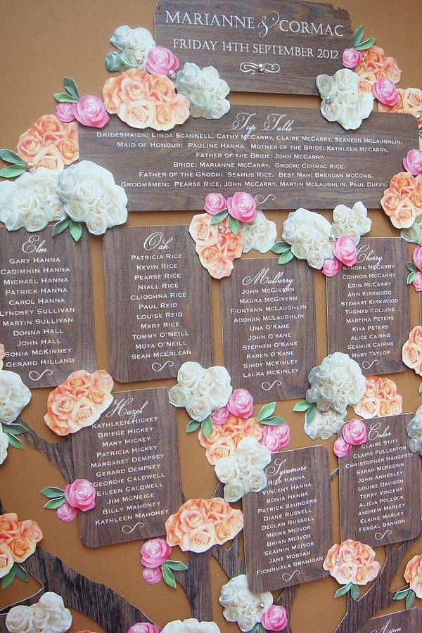 wedding seating chart template 18