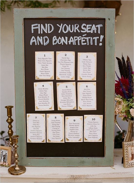 seating chart wedding 38