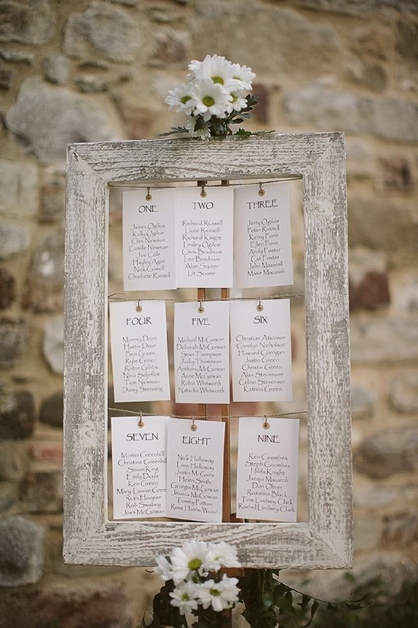 wedding seating chart ideas 41