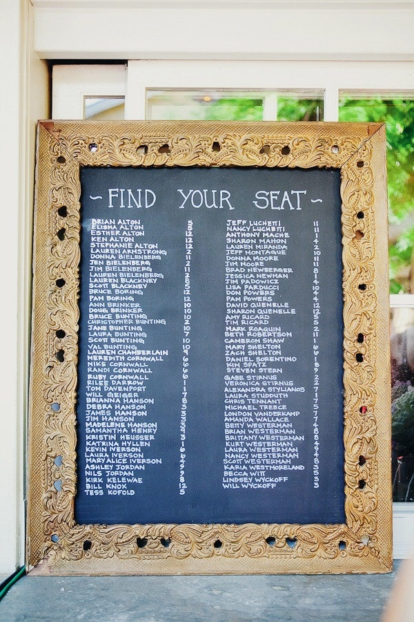 seating chart for wedding 74