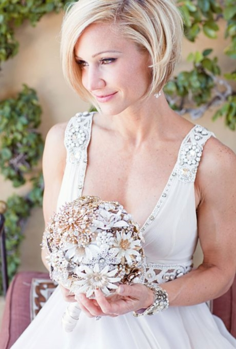 60 Hot Short Wedding Hairstyles