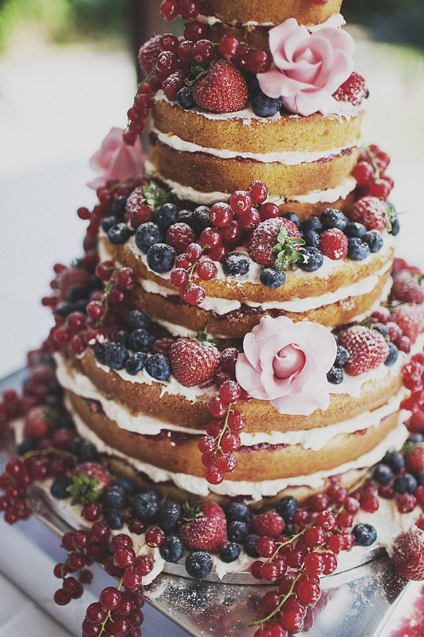 55 Yummy Summer Wedding Cakes