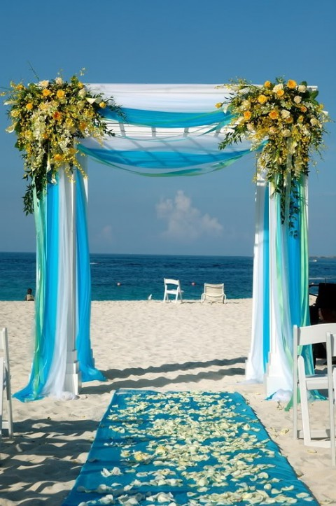 61 Bright Turquoise Wedding Ideas Hywedd