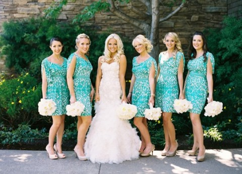 61 Bright Turquoise Wedding Ideas | HappyWedd.com