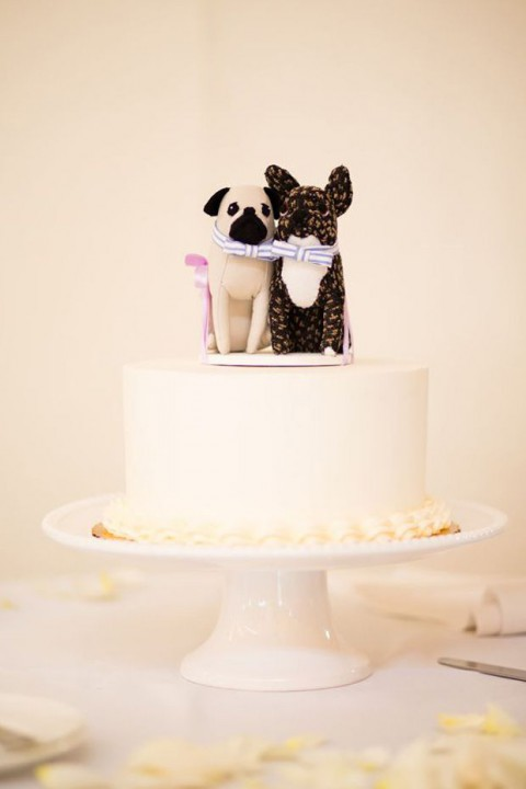 Cute Bird Wedding Cake Toppers