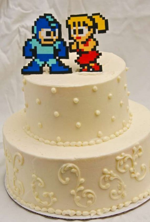 71 Unique Wedding Cake Toppers | HappyWedd.com