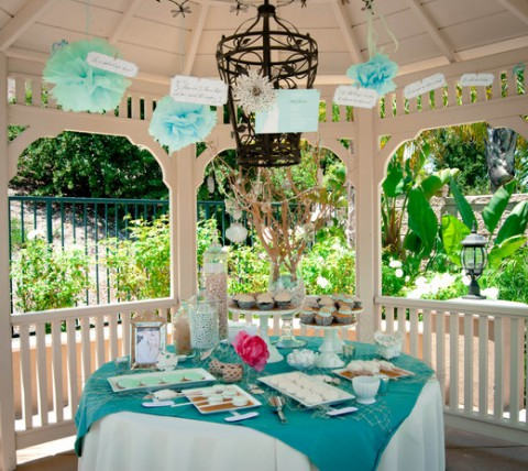 cbcb466a48b0 35 Cool Beach Bridal Shower Ideas