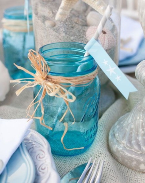 35 cool beach bridal shower ideas happywedd junglespirit Image collections