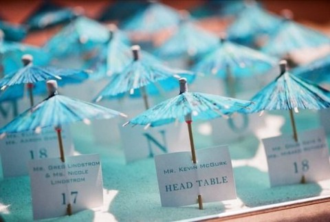 62 creative beach wedding escort cards ideas happywedd by mia junglespirit Image collections