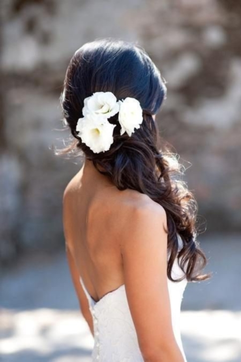 45 Awesome Beach Wedding Hair Ideas