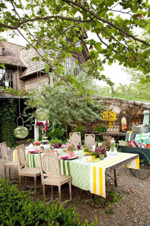52 Charming Garden Bridal Shower Ideas