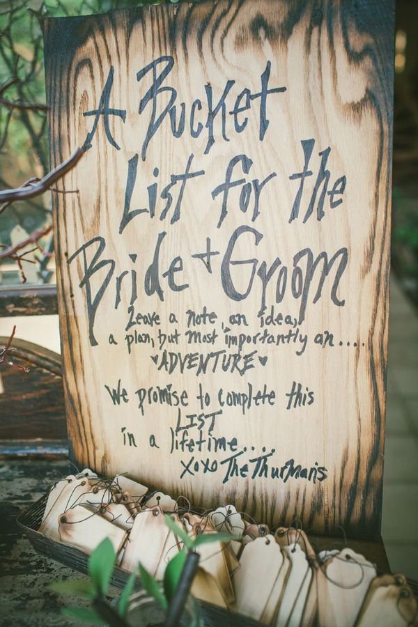 50 Alternative Wedding Guest Books | HappyWedd.com