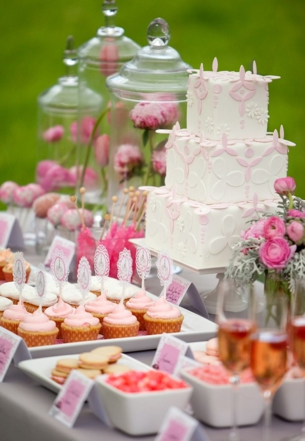 65 Pink Bridal Shower Ideas