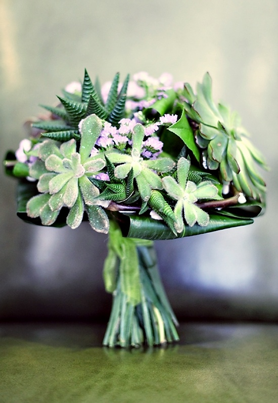75 Cute Succulent Wedding Bouquets