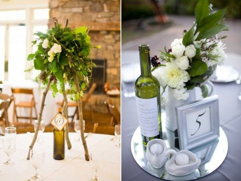 53 vineyard wedding centerpieces to get inspired happywedd junglespirit Choice Image