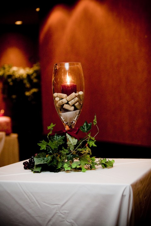 53 vineyard wedding centerpieces to get inspired for Wine themed centerpieces